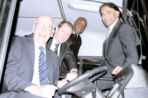 Daimler launches locally-built buses